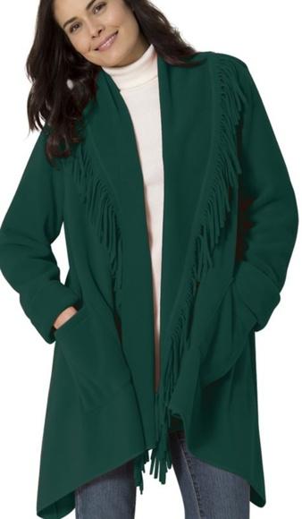 c3c8f1f70bfeb Women s plus size emerald coat 30 32 NWT